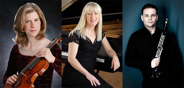 Kathryn Votapek, viola, Pauline Martin, piano, Nicolai Pfeffer, clarinet